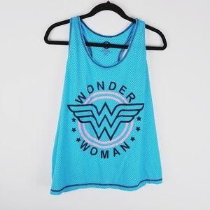 Wonder woman razorback athletic sleep wear 2x